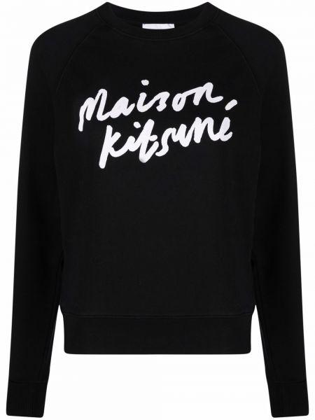 Хлопковый свитшот - белый Maison Kitsuné