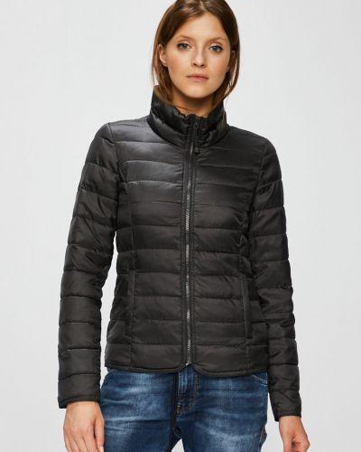 Стеганая куртка утепленная укороченная Only