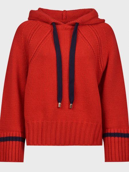 Красный шерстяной свитер Ba&sh
