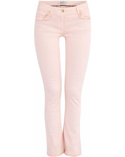 Расклешенные джинсы с низкой посадкой на пуговицах Etro