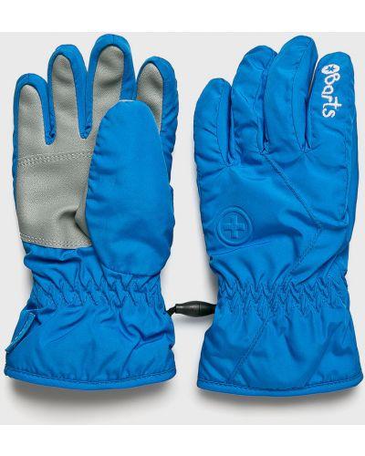 Синие перчатки Barts