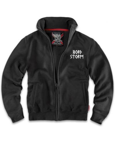 Толстовка с вышивкой - черная Dobermans Aggressive