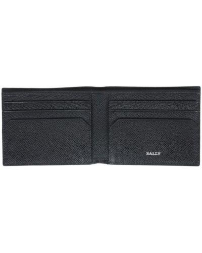 Czarny portfel Bally
