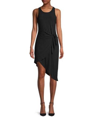 Асимметричное черное платье без рукавов Bcbgeneration