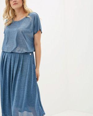 Повседневное платье синее Montebella Style