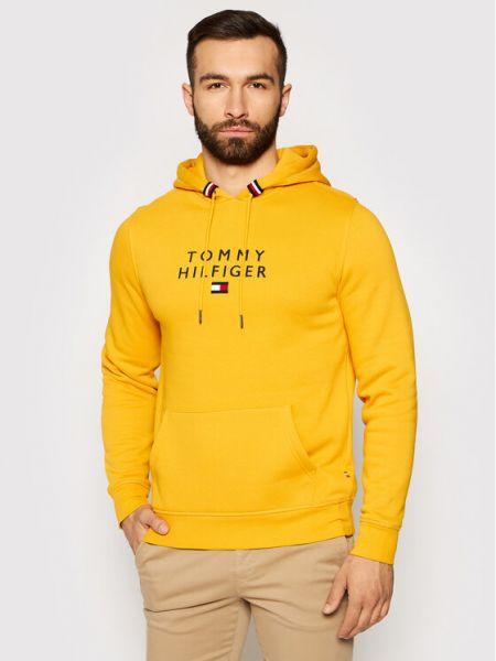 Żółta bluza kaskadowa Tommy Hilfiger