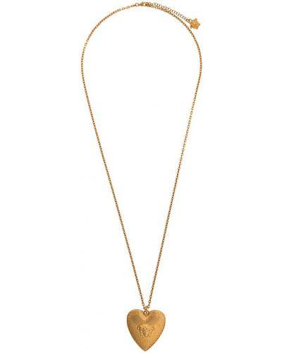 Подвеска со шнурком золотой Versace
