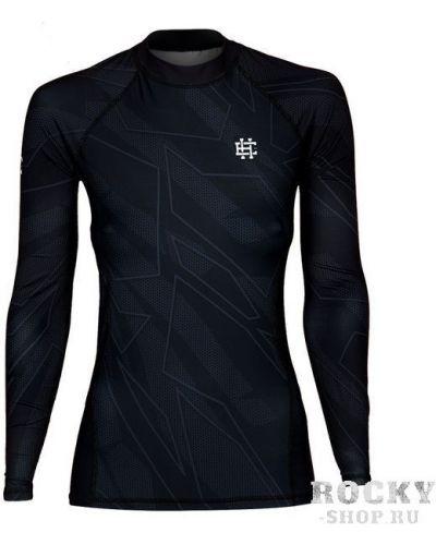 Облегающий с рукавами черный рашгард Extreme Hobby