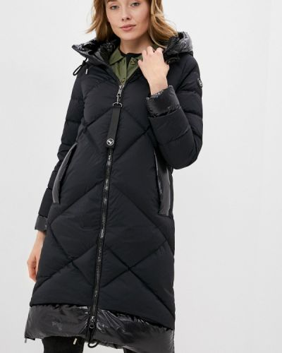 Черная зимняя куртка Aviù