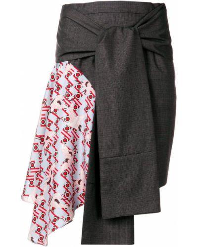 Приталенная юбка Snow Xue Gao