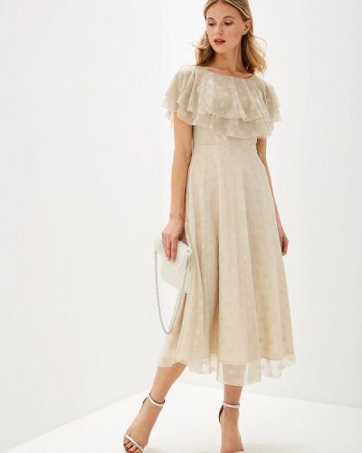 Платье - бежевое Genevie