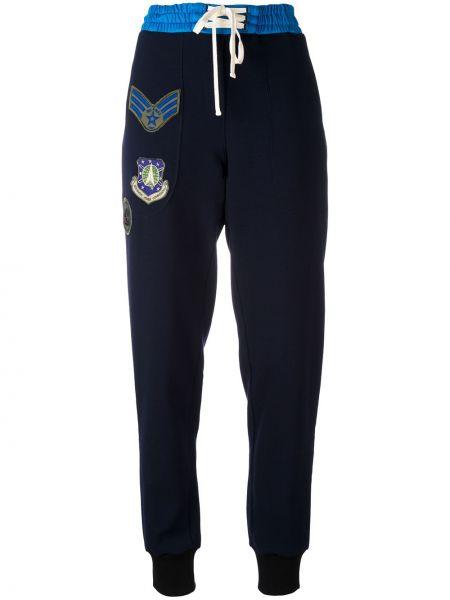 Хлопковые синие спортивные брюки Mr & Mrs Italy