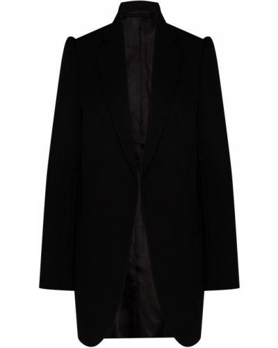 Пиджак черный оверсайз Balenciaga
