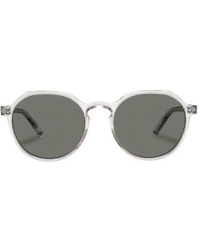 Białe okulary Le Specs