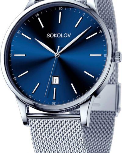 Часы классические серый Sokolov