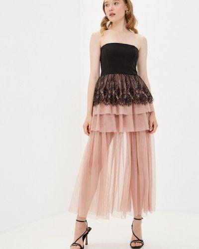 Розовое вечернее платье Imperial