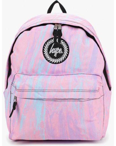 Розовый рюкзак Hype