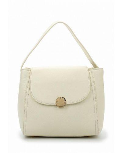 Белая сумка через плечо Fabretti