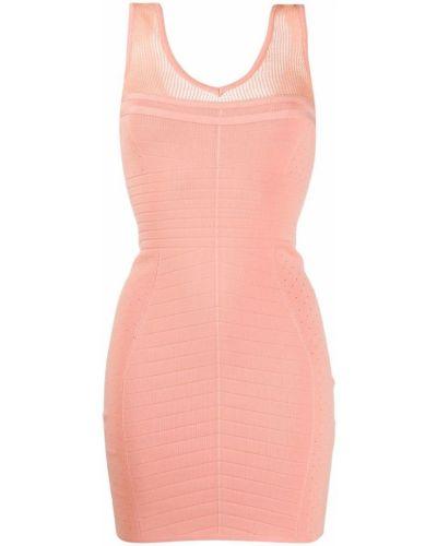 Облегающее платье - розовое John Richmond
