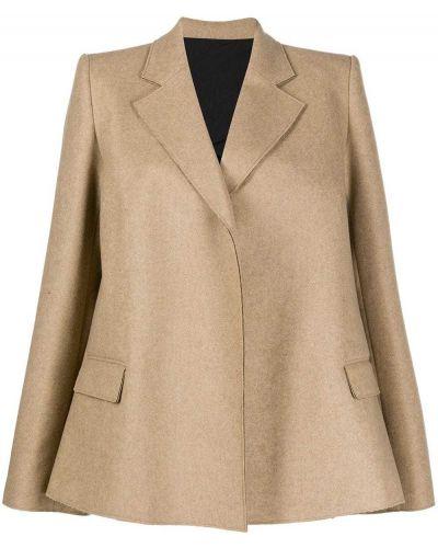 Шерстяной пиджак с лацканами Toteme