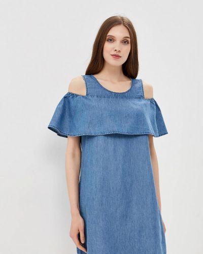 Джинсовое платье синее Vila