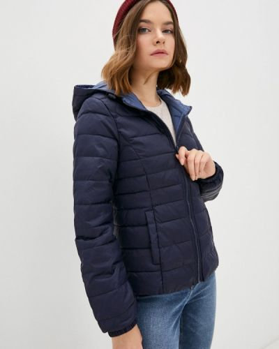 Теплая синяя куртка Only