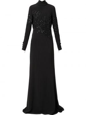 Вечернее платье длинное - черное Elie Saab