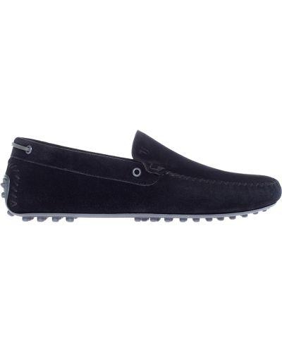 Черные мокасины Trussardi Jeans