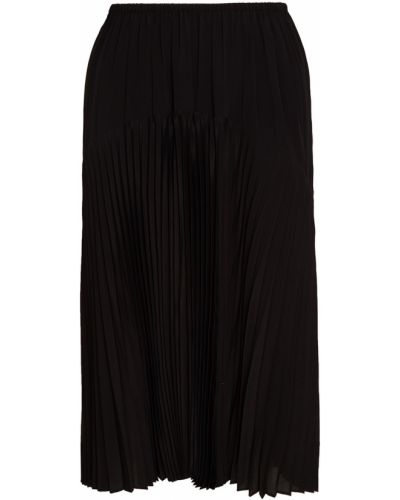 Плиссированная юбка шелковая Vince.