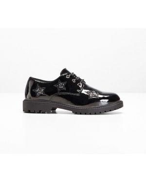 Туфли с аппликациями черные Bonprix