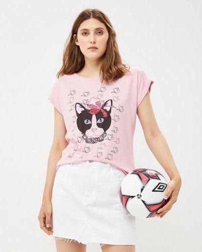 Футболка розовый итальянский Rinascimento