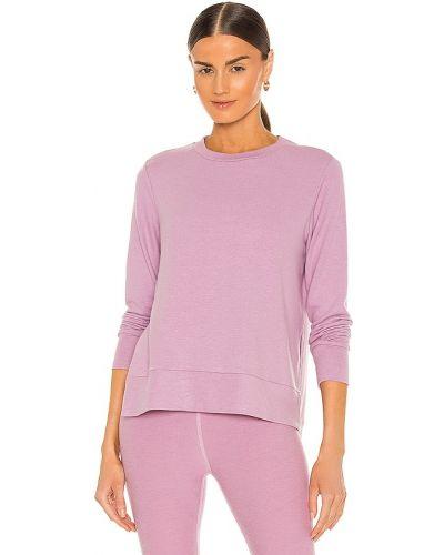 Розовый пуловер с длинными рукавами для йоги Beyond Yoga