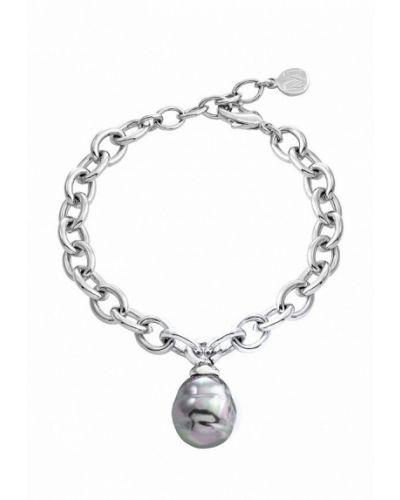 Серебряный браслет серебряного цвета Majorica