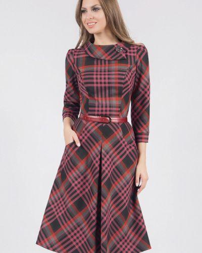 Платье миди осеннее Olivegrey
