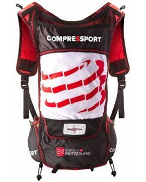 Czarna torba sportowa z niskim stanem Compressport