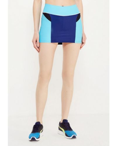 Юбка шорты - синяя Dali