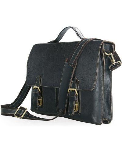 Кожаный портфель - белый Vintage