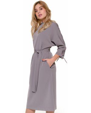 Платье с поясом платье-сарафан летучая мышь Nikol