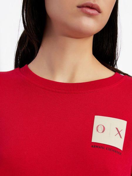 Платье макси длинное - красное Armani Exchange
