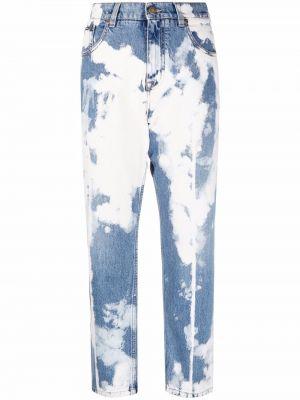 Белые прямые джинсы классические Tom Ford
