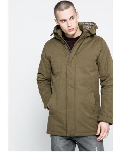 Утепленная куртка с капюшоном милитари Only & Sons