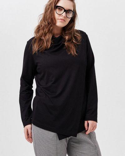 Блузка весенний черная W&b