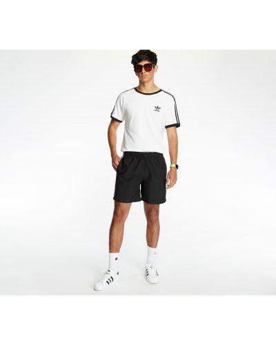 Черный купальник с нашивками Adidas Originals