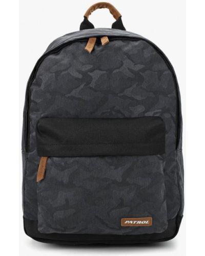 Серый рюкзак городской Patrol