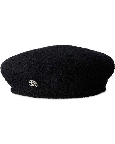 Biała czapka bawełniana Maison Michel