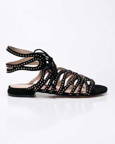 Сандалии на шнуровке кожаный Liu Jo