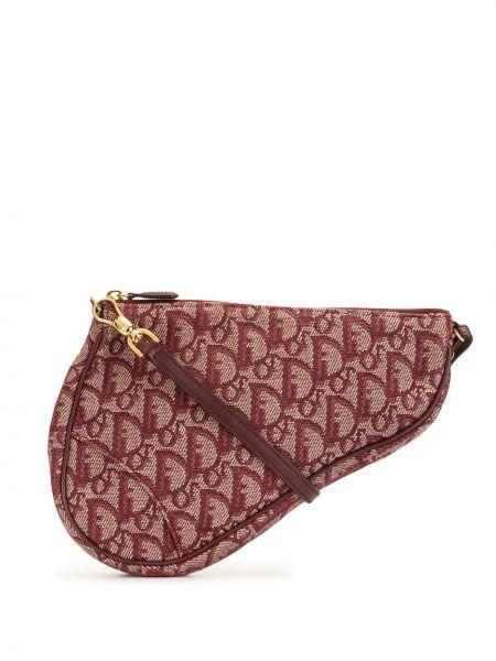 Top skórzany asymetryczny Christian Dior