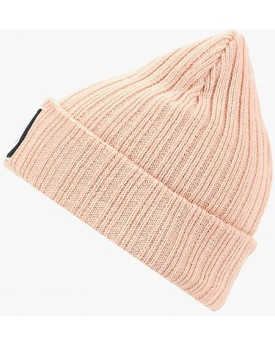 Розовая шапка осенняя Modis