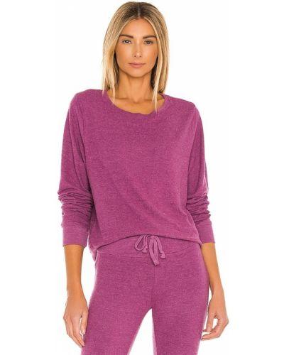 Bluza dresowa - fioletowa Wildfox Couture