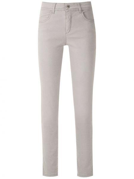 Зауженные джинсы - серые Mara Mac